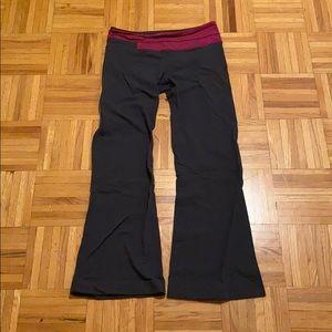 LULULEMON Flare Yoga Pants *REVERSIBLE*